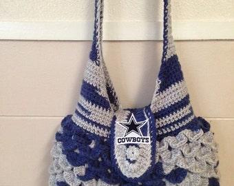 Dallas Cowboys inspired Purse