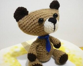 Crochet Amigurumi Pattern Teddy Bear Pattern - Teddy Toby