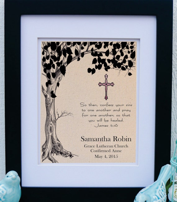 Catholic Confirmation Quotes From The Bible: Gift For Confirmation Gift From Godparents Girls