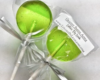 12 Granny Smith Apple Lollipops