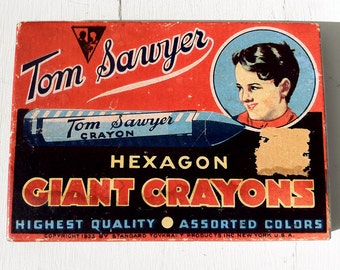 Tom Sawyer Giant Hexagon Crayons