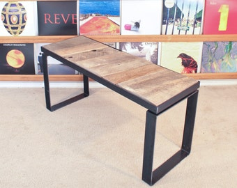 Reclaimed Barn Wood Bench / End Table