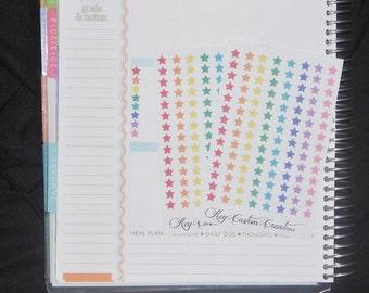 Micro Star Stickers