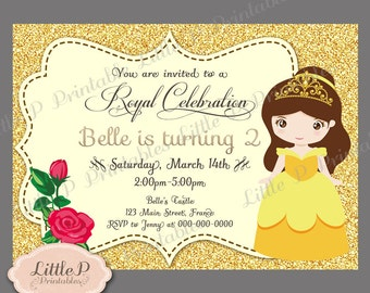 Be Our Guest Invite Etsy