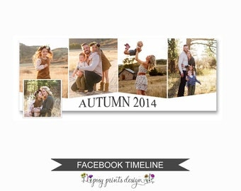 Facebook Timeline Cover Photoshop Template - FBT02
