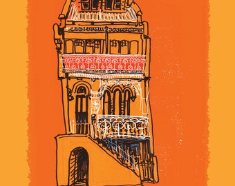 A4 Limited edition Print -The Hill Newcastle