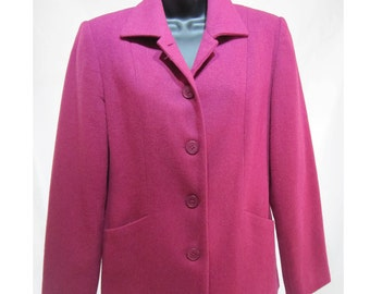 Hot pink blazer / coat