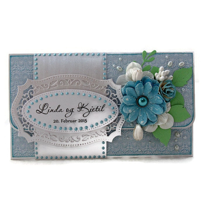 Unique Wedding Gift Cards : Personalized Wedding Gift Wedding Gift Card Holder White
