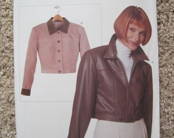 UNCUT Vogue Misses Jacket - Size 6 to 22 - Sewing Pattern 9707