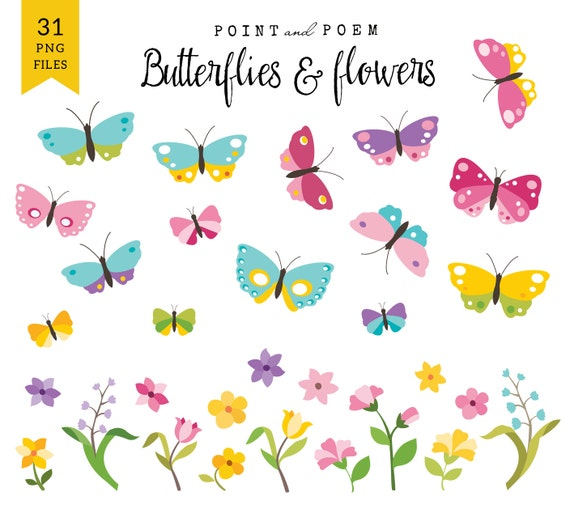 Drawings of Flowers and Butterflies For Kids ... - ThoughtCo