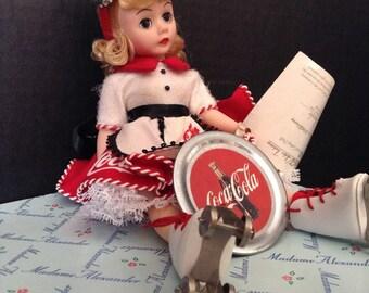 Madame Alexander Coca Cola Car Hop doll 1995