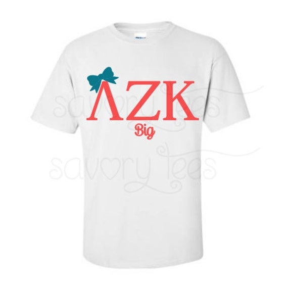 2 big little sorority shirts bundle sorority sister by for Cute greek letter shirts