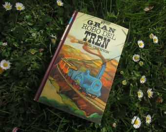 Hollow book to keep secrets. The great train robbery.