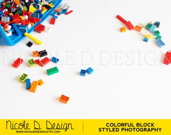 Bright Color Block - Stock Photography