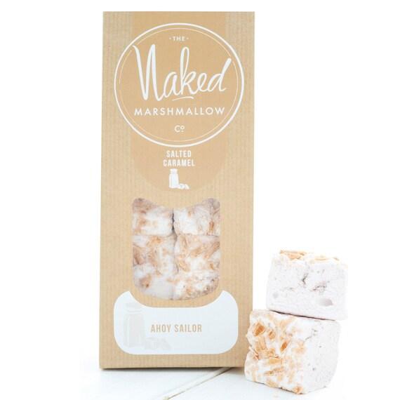 SALTED CARAMEL MARSHMALLOWS by NakedMarshmallowCo on Etsy