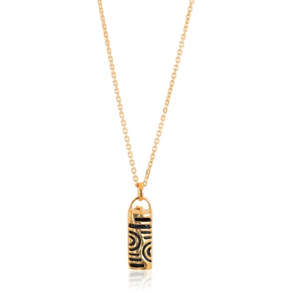 Necklace Eve - Fitbit Flex Jewelry - in GOLD