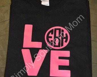 LOVE Monogram Shirt