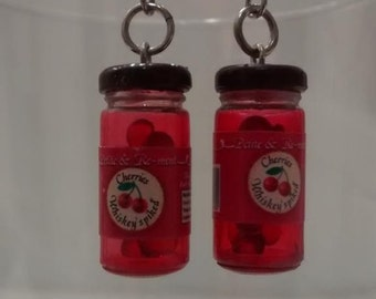 Cherry Jar Earrings.