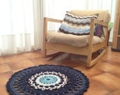 Boho decor - Doily rug - bohemian decor dorm