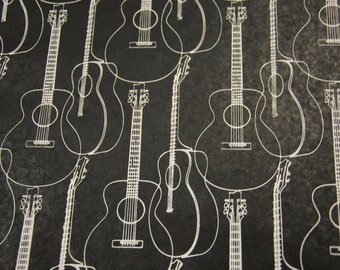 Black Guitar Paper by Midori