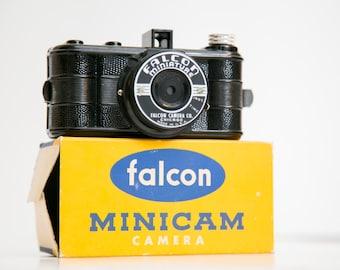 Like New Falcon MiniCam 127 Film Camera, Film, and Box