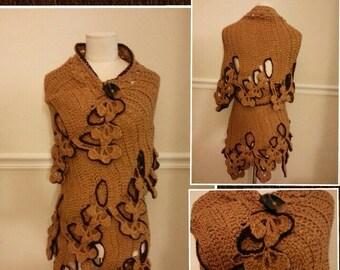 BuddhaFly Wrap Shawl (custom made to order)