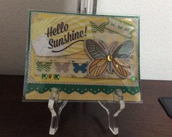 Handmade cards from scrapbook materials