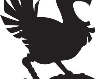 Chocobo - Final Fantasy Decal