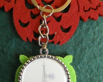 "Key ring ""París"""