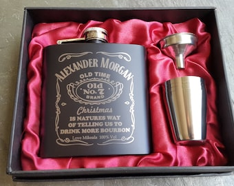 Custom Graphics Personalized Flask