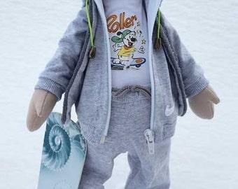 Andrew custom doll