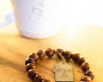 Wood Phoenix Bracelet