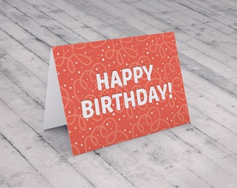 Birthday Card | Instant download