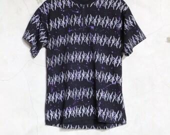 vintage shirt, bmx shirt, splatter print, back pockets, Bolters cycling shirt, cycling, bmx, 3 back pockets, size Medium
