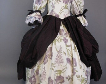The rococo dress for girls 5-6 years (116) Code: 083/2014