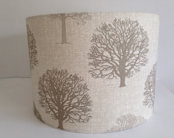 Marson Trees Handmade Lampshade in Beige/Neutral