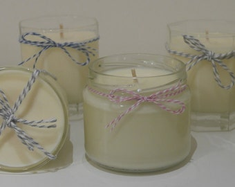 Medium Love Candle REFILL - scented soy candle made with love <3
