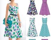 New Look 6020 Retro Dress Pattern Sizes 8-18 NEW