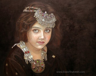 Art Print - Princess of the East - Canvas and Poster Prints