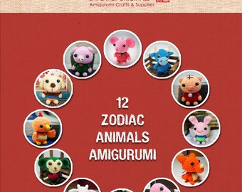 12 Zodiac Animals Amigurumi Patterns