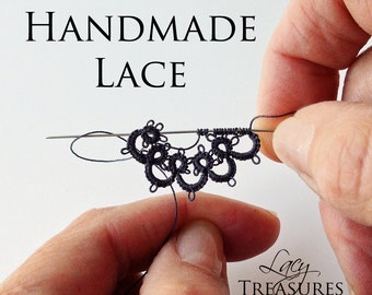 Handmade L A C E Crystal Bead Filigree Jewelry - Necklaces, Pendants, Earrings - Everyday, Wedding, Unique Gift Art Jewelry, Boho to Modern