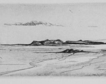 Anchorage - Original Etching Aquatint
