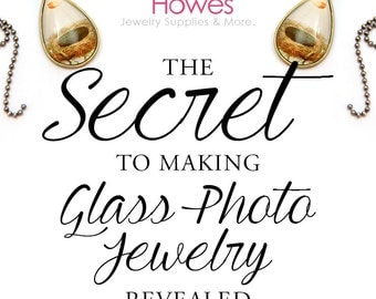 The Secret to Making Glass Photo Jewelry.