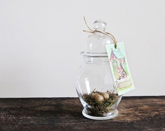 Easter Apothecary Jar
