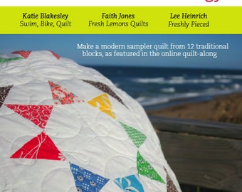 Modern Quilt Pattern - Summer Sampler Series - PDF
