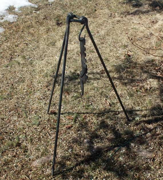 Campfire Cooking Tripod Campfire Cooking Tripod With