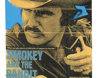 Smokey and the Bandit  Screen Print  by Print Mafia