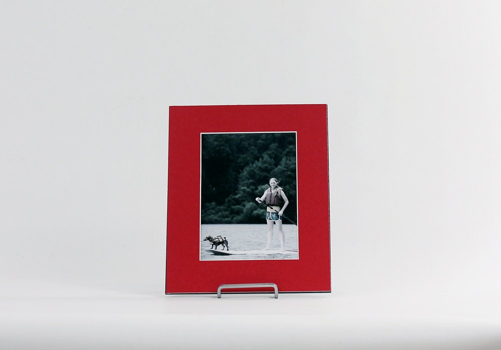 8x10 Single Or Double Photo Mat Fits 5x7 Or 4x6 Frame
