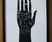 Palmistry Art Print - Wall Art