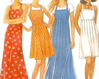 Summer Casual dress Multi size and length Sewing pattern New Look 6496 Size 8 to 18 Uncut